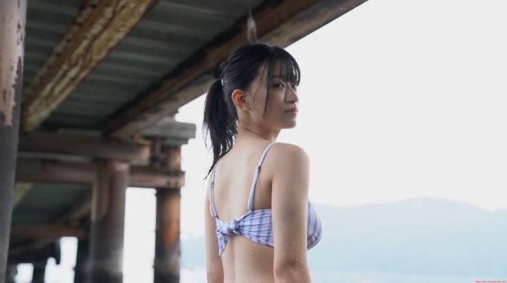 Rei Kaminishi Swimsuit Gravure Making of Water Temperature Vol2014