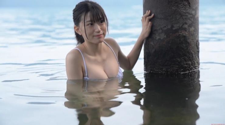 Rei Kaminishi Swimsuit Gravure Making of Water Temperature Vol2015