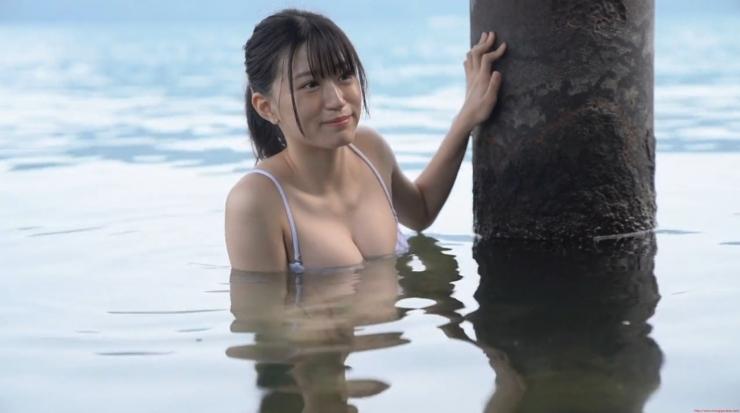 Rei Kaminishi Swimsuit Gravure Making of Water Temperature Vol2016