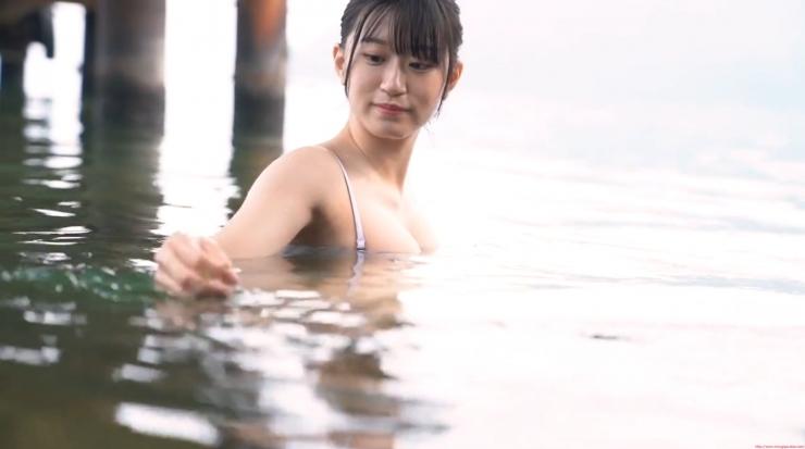 Rei Kaminishi Swimsuit Gravure Making of Water Temperature Vol2017
