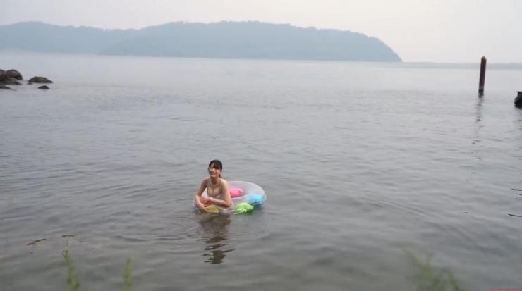 Rei Kaminishi Swimsuit Gravure Making of Water Temperature Vol2029