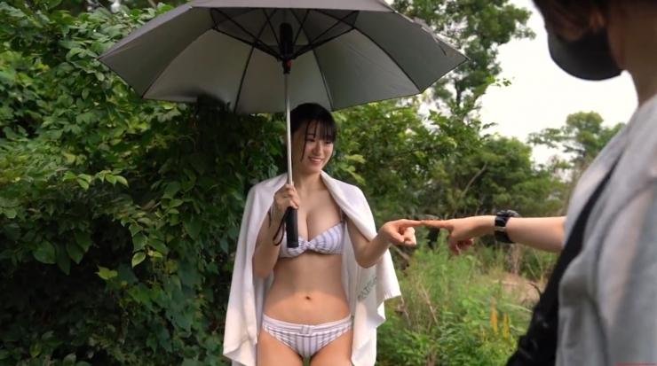 Rei Kaminishi Swimsuit Gravure Making of Water Temperature Vol2037