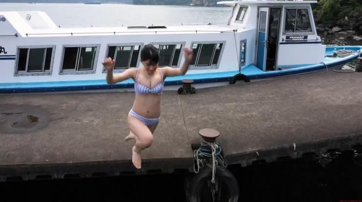 Rei Kaminishi Swimsuit Gravure Making of Water Temperature Vol2053