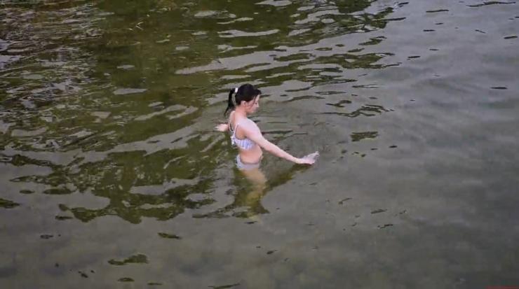 Rei Kaminishi Swimsuit Gravure Making of Water Temperature Vol2061