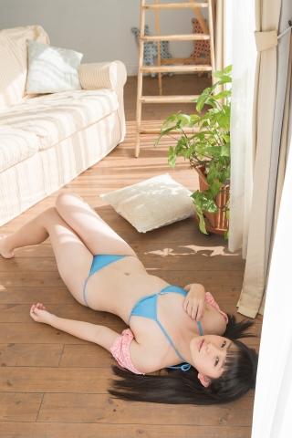 Kaeka Kawamura Light blue bikini044