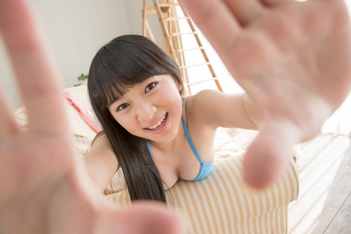 Kaeka Kawamura Light blue bikini068