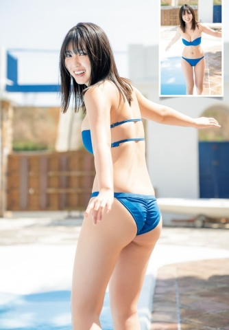 Aika Sawaguchi Ahead of summer the strongest body with a fresh smile004