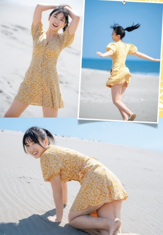 Aika Sawaguchi Ahead of summer the strongest body with a fresh smile006