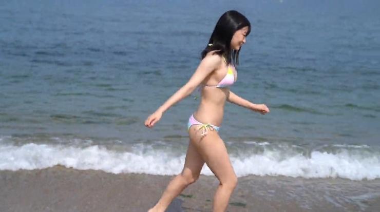 Rei Kaminishis gravure photo shoot at sea008
