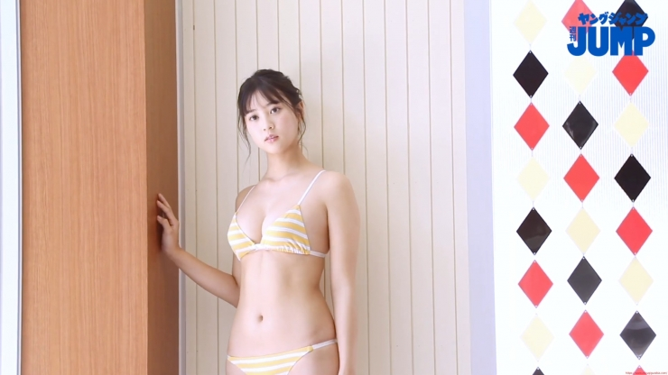 Arina Mitsuno 18 years old who is a member of Seikore GP015