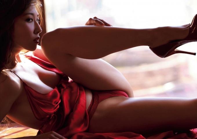 Mio Sugiyama Bostom Danmitsu actress immoral naked body002