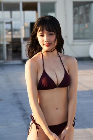 Sakuzo Ando take a look at Sakuchin who has grown up a little010