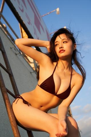 Sakuzo Ando take a look at Sakuchin who has grown up a little017