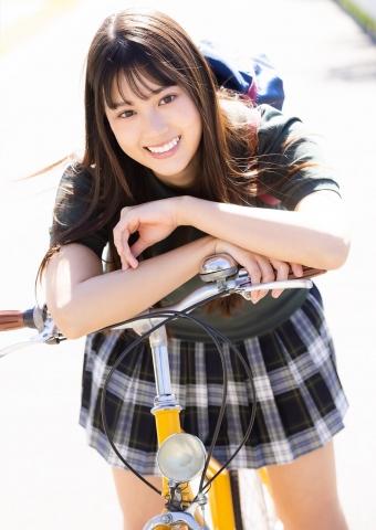 Arina Mitsuno Run up to the school uniform Cinderella016