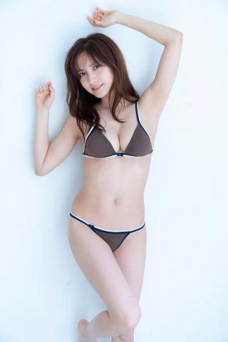 Nashiko Momotsuki Shita bikini Brown bikini Red lingerie009
