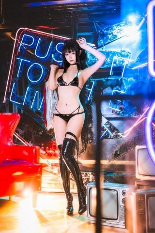 Devils Black Bikini Oho Azur Lane Cosplay008