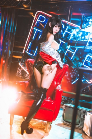 Devils Black Bikini Oho Azur Lane Cosplay013
