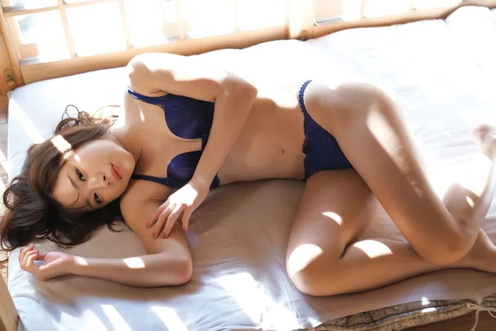Sumire Noda Shibu golfer of the golden generationwears lingerie for the first time012
