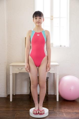 Hinari Sakiba Arena swimming suit pink001