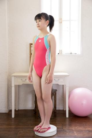 Hinari Sakiba Arena swimming suit pink002