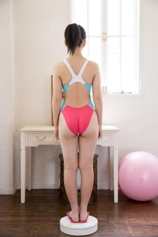 Hinari Sakiba Arena swimming suit pink005