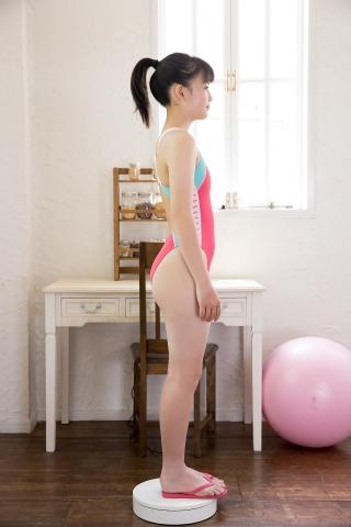 Hinari Sakiba Arena swimming suit pink007