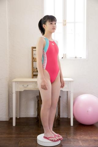 Hinari Sakiba Arena swimming suit pink008