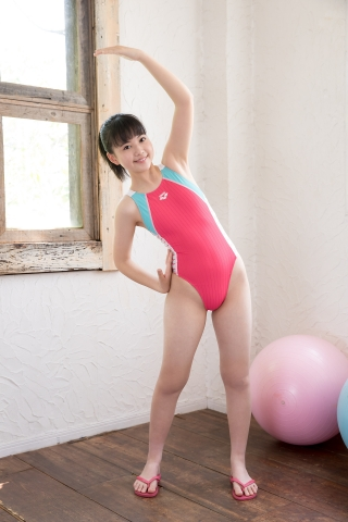 Hinari Sakiba Arena swimming suit pink010