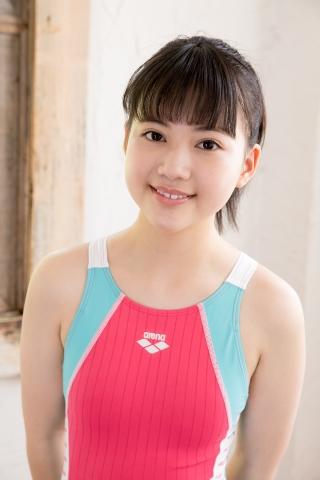 Hinari Sakiba Arena swimming suit pink018