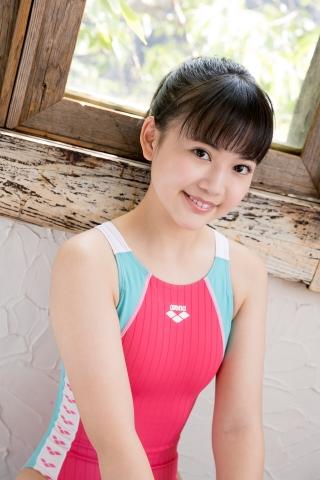 Hinari Sakiba Arena swimming suit pink027