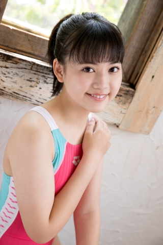 Hinari Sakiba Arena swimming suit pink028