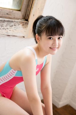 Hinari Sakiba Arena swimming suit pink038