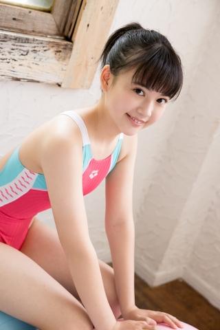 Hinari Sakiba Arena swimming suit pink037
