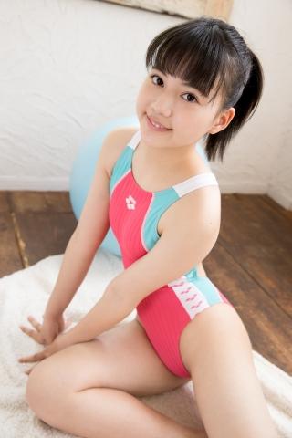 Hinari Sakiba Arena swimming suit pink044