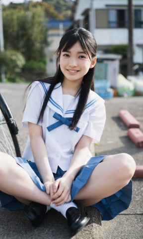 Airi Hiruta When she laughs the world laughs 17 years old is almost invincible012