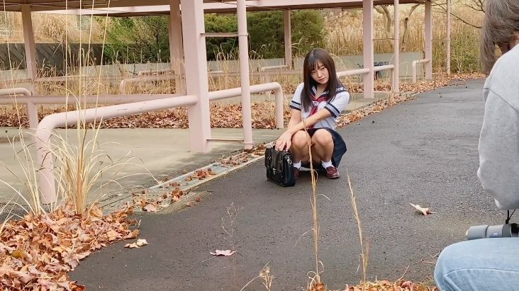 Ayana Nishinaga 25 years old with both boldness andcuteness finally shows off her whole body019