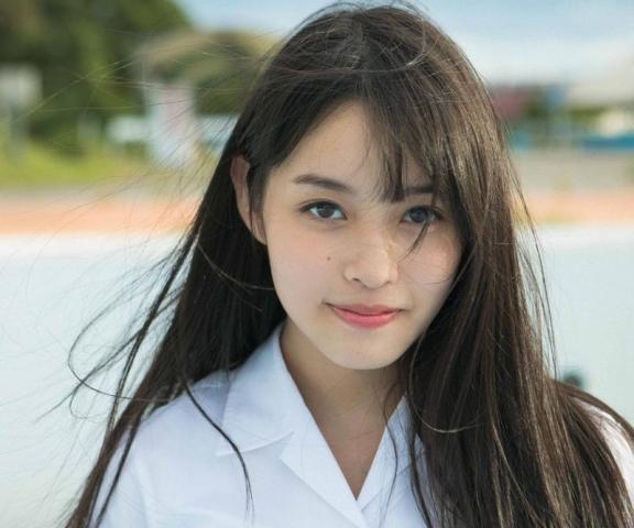 Reia Inoko 17 years old dazzling fresh bikini006