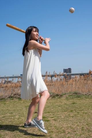 Akina Ikeda: Baseball minor of Reiwa002