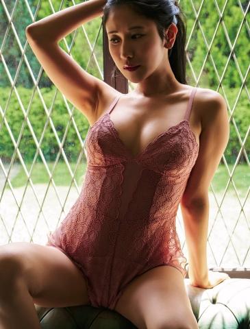 Kurumi Natori in her own underwear004