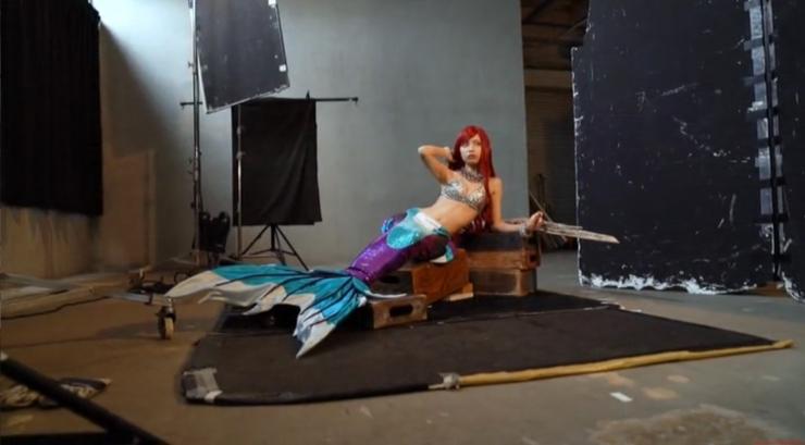 Akari Akase Bikini Mermaid004