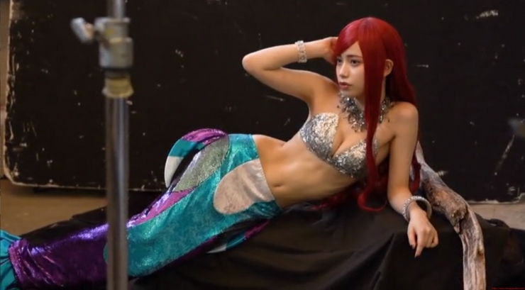 Akari Akase Bikini Mermaid013