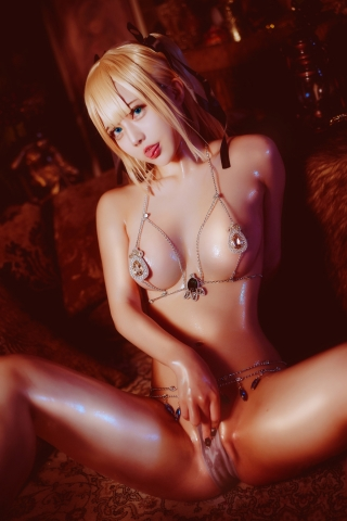 Marie Rose Dead or Alive Cosplay004