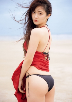 Kazusa Okuyama Swimsuit Queen of gravure who is also active as an actress017