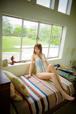 Aimi Iwamoto Leotard Swimsuit Current College Student 19 years old007