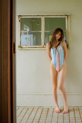 Aimi Iwamoto Leotard Swimsuit Current College Student 19 years old m003