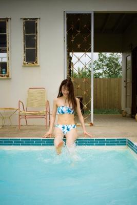 Ai Iwamoto Current College Student 19 years old Vol2Bikini Pool 024