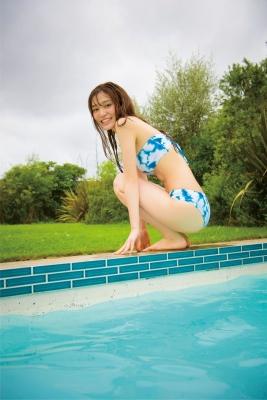 Ai Iwamoto Current College Student 19 years old Vol2Bikini Pool 030