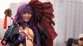 Sayaka Nidori Extreme Exposure Cosplay Macro Smash Cross F/Sheryl Black Rabbit001