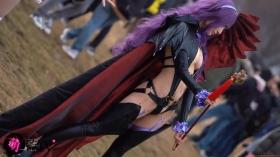 Sayaka Nidori Extreme Exposure Cosplay Macro Smash Cross F/Sheryl Black Rabbit022