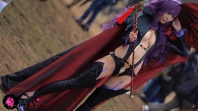 Sayaka Nidori Extreme Exposure Cosplay Macro Smash Cross F/Sheryl Black Rabbit023